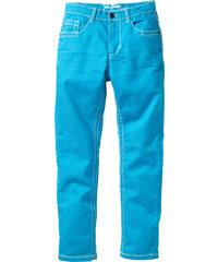 John Baner JEANSWEAR Pantalon slim fit avec effets froissés, XXL bleu enfant - bonprix