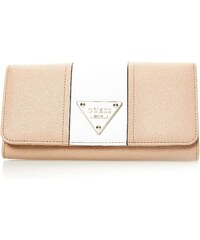 Guess Cooper - Portefeuille bicolore - camel