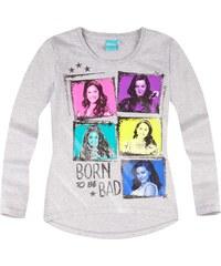 Disney Descendants Langarmshirt grau in Größe 140 für Mädchen aus 60 % Baumwolle 40 % Polyester