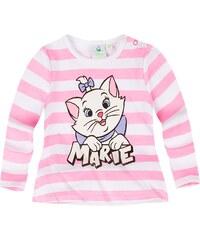 Disney Marie the Cat Langarmshirt weiß in Größe 3M für Mädchen aus 100% Baumwolle