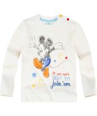 Disney Mickey Langarmshirt weiß in Größe 3M für Jungen aus 100% Baumwolle