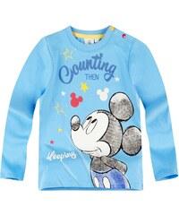 Disney Mickey Langarmshirt blau in Größe 3M für Jungen aus 100% Baumwolle
