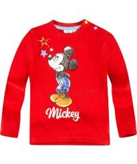 Disney Mickey Langarmshirt rot in Größe 3M für Jungen aus 100% Baumwolle