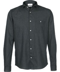 Nowadays Brushed Oxford chemise manches longues anthra