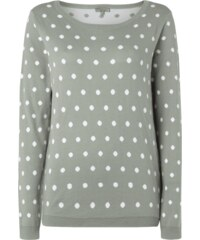 Montego Pullover mit Polka Dots