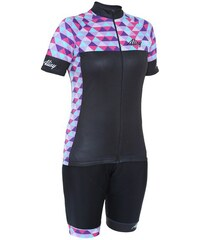 Dámský cyklo komplet Alisy Kaleido Wmw hobby black M