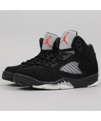Jordan Jordan 5 BP black / fire red - metallic silver (basketbal)