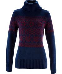 bpc bonprix collection Pullover langarm in blau für Damen von bonprix