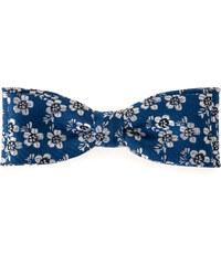Avantgard Modrý motýlek s květy_