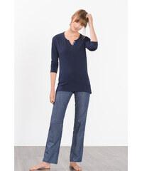 Esprit Pyjama en jersey/tissu, 100 % coton