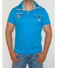 Violento Pánské polo tričko VNT modré