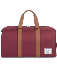 Taška Herschel Supply Novel Windsor Wine/Tan Synthetic Leather
