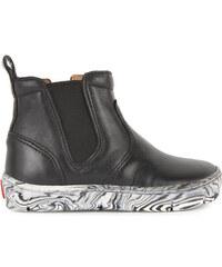 Pom d'Api Leder-Boots Start Jodzip