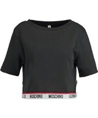 Moschino Underwear Nachtwäsche Shirt black