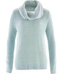 bpc bonprix collection Rolákový pulovr ve vícebarevném vzhledu bonprix