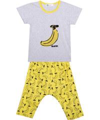 Lesara Kinder-Pyjama mit Bananen-Print - 92