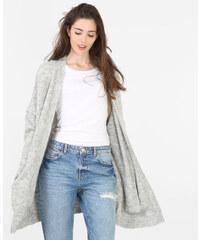 Long gilet gris, Femme, Taille L -PIMKIE- MODE FEMME