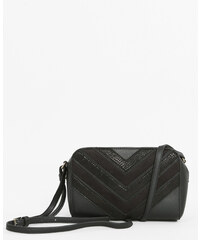 Sac boxy croco noir, Femme, Taille 00 -PIMKIE- MODE FEMME
