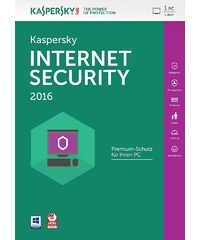 Kaspersky Sicherheits-Software »Internet Security 2016 1 User MiniBox«