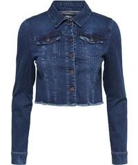 Only Kurz geschnittene Jeansjacke