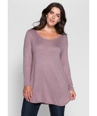 sheego Style Pullover mit Ziersteinen