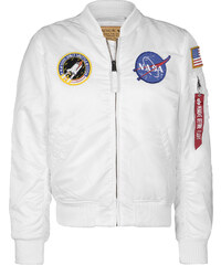 Alpha Industries Ma-1 Vf Nasa veste white