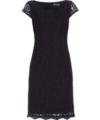 s.Oliver Premium Kleid aus floraler Spitze mit Muschelsaum
