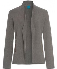 COOL CODE Damen Jacke figurnah grau aus Baumwolle