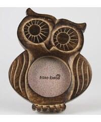 Sass & Belle Dřevěný fotorámeček sova velký
