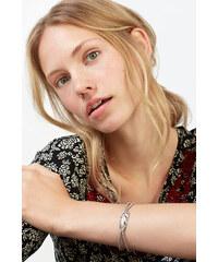 Esprit Strečový náramek s perlami a pírkem