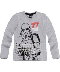 Star Wars-The Clone Wars Langarmshirt grau in Größe 116 für Jungen aus 60 % Baumwolle 40 % Polyester