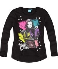 Disney Descendants Langarmshirt schwarz in Größe 140 für Mädchen aus 100% Baumwolle