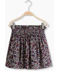 Esprit Květovaná sukně s elastickým pasem