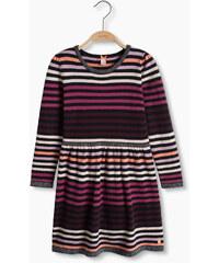 Esprit Bavlněné pletené šaty s lesklým efektem