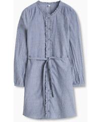 Esprit Halenkové šaty z bavlněného kambriku