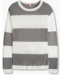 Esprit Měkký pulovr s širokými pruhy