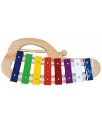 Kovový xylofon, obloukový