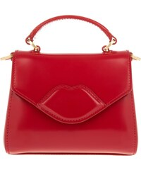 Lulu Guinness Sacs à Bandoulière, Lips Envelope Mini Lizzy Red en rouge
