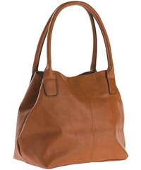 Michèle Boyard Damen Shopper Handtasche braun aus Kunstleder