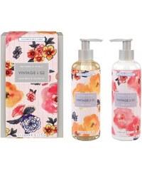 Heathcote & Ivory Dárková sada mýdla a krému na ruce Patterns & Petals