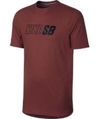 Nike TRIKO NKE SB SKYINE DRI-FIT COO GFX SS - vínová - 660843064a