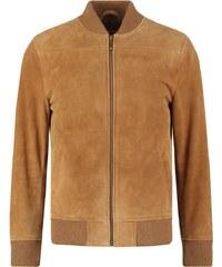 Esprit Collection Veste en cuir camel