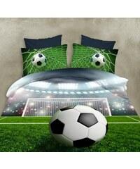 Povlečení FOOTBALL DREAM 3D set 4 ks, 160x200 cm, 2x povlak 70x80 cm, prostěradlo 180x225 MyBesthome