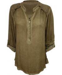 Made in Italy Košile s pajetkami