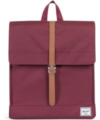 Batoh Herschel Supply City Windsor Wine/Tan Synthetic Leather