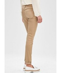 Damen BLACK LABEL Slim: Stretch-Hose aus Satin S.OLIVER BLACK LABEL braun 32,36,38,40,42,44,46