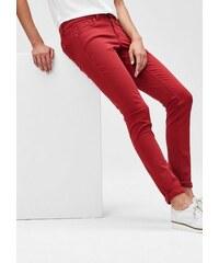 Damen BLACK LABEL Slim: Stretch-Hose aus Satin S.OLIVER BLACK LABEL rot 32,34,36,38,40,42,44,46