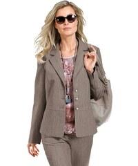 Damen Lady Blazer in Melange-Qualität LADY braun 36,38,40,42,44,46,48,50,52,54