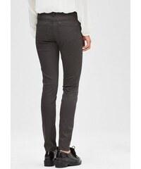 S.OLIVER BLACK LABEL Damen BLACK LABEL Slim: Stretch-Hose aus Satin schwarz 32,34,36,40,42,46