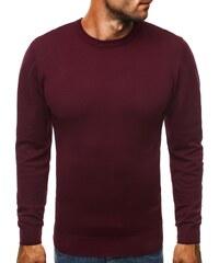 Atraktivní pánský svetr BRUNO LEONI M010 bordó